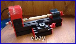 Mini 6 in 1 lathe machine Multi-functional DIY Motorized jigsaw Grinder Driller