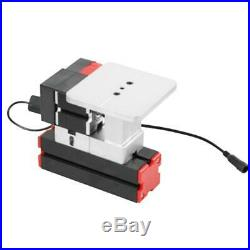 Mini DIY 6 in 1 Motorized Jigsaw Grinder Wood Metal Lathe Woodworking 100-240V