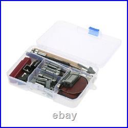 Mini DIY 6 in 1 Plastic Wood Metal Motorized Lathe Machine Tool 100-240V C3K1