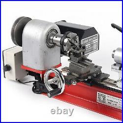 Mini Desktop Lathe Machine Instrument High Power Small Metal Milling Machine USA