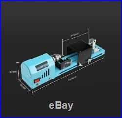 Mini Lathe Beads Machines Woodwork DIY Standard Sets Metalworking Equipment Tool