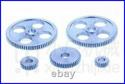 Mini Lathe Gears Metal Cutting Machine Gears Lathe Gears 5Pcs Metal Screwdriver