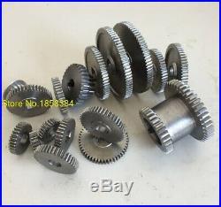 Mini Lathe Metal Cutting Machine Tool Set 17 Pcs Exchange Gears FREE SHIPPING