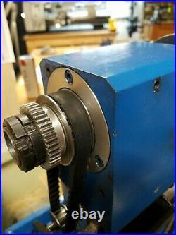 Mini Metal Lathe 1 HP Servo Motor 115 V 750 Watt Kit With CNC switched input