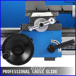 Mini Metal Lathe 550W 7 x 12 Inch Lathe Metalworking Woodworking Bench Precision