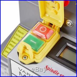 Mini Metal Lathe 7 x 14 550W 3/4HP Metal Gear Digital Display Variable Speed