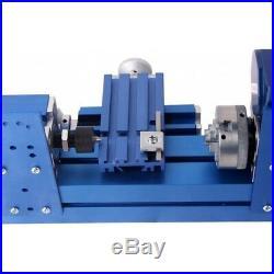 Mini Metal Lathe CNC DIY Tool Woodworking Lathe Machine Teaching Model Making US