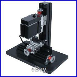 Mini Metal Lathe Drilling Milling Machine 60W Power Tools Woodworking System
