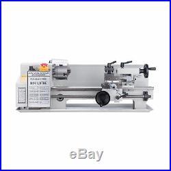 Mini Metal Lathe Machine 550W Variable Speed 0-2500 RPM