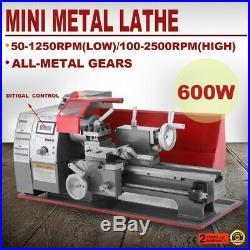 Mini Metal Lathe Machine 600W 11.5 x 27.5 Woodworking Metalworking Tool