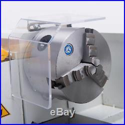 Mini Metal Lathe Machine Bed 550W Variable Speed 0-2500 RPM