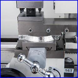 Mini Metal Lathe Machine Bed 7 x 14 550W Variable Speed 2250 RPM DC Motor