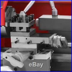 Mini Metal Lathe Machine Brush-Motor Metalworking Woodworking Tool 7 x 12