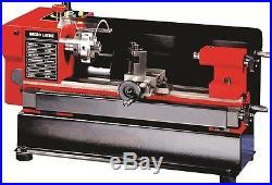 Mini Metal Lathe Machine Swing over Bed 110mm Distance between centers 125mm