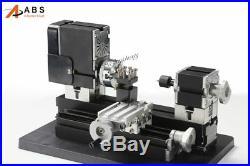 Mini Metal Lathe Machine with 12000r/min, 60W Motor and Larger Processing Radius