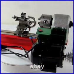 Mini Metal Lathe Soft Metal working Woodworking DIY Model Making 400W 2500RPM