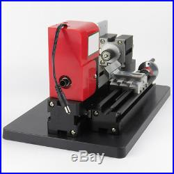Mini Metal Working Lathe Motorized Machine DIY Tool Metal Woodworking US SHIP