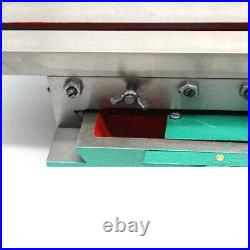 Mini Milling Drilling Machine Cross Slide Bench X/Y 2 Axis Adjustable 450170mm