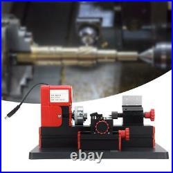 Mini Miniature Multifunction DIY Metal Motorized Lathe Machine 20000r/min 24W