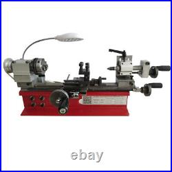 Mini Motorized DIY Lathe Machine Wood Metal Manufacturing Metalworking Lathe USA