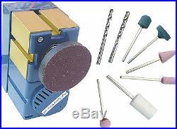 Mini Multipurpose Machine 8 In 3 Wood Metal Lathe Driller Milling Woodturning