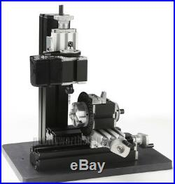 Mini Multipurpose Metal Material Machine 8 In 1 DIY Tool Kit Woodworking Lathe