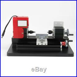 Mini Small Metal Lathe Machine Saw Combined Motorized Tool 12VDC/2A/24W USA