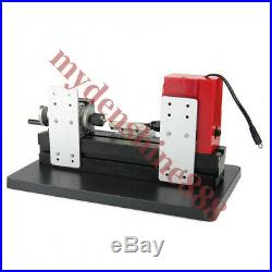 Mini Wood Metal Motorized Lathe Machine Woodworking Hobby DIY Tool 35mmX135mm