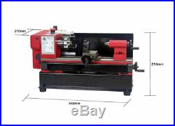 Mini metal processing machine Metal lathe with 65mm 3-jaw chuck SIEG C0-125-220V