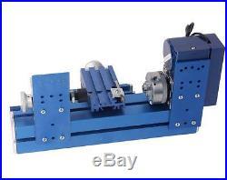 Motorized Metalworking DIY Tool Universal Soft Metal Mini Turning Lathe Machine