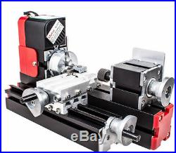 Multifunction DIY CNC Mini Wood Metal Lathe Machine 20000r/min Woodworking