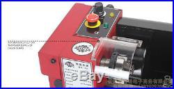 NEW Mini lathe metal processing machine Metal Tools+ 50mm 3 jaw chuck 220V
