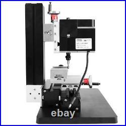 New 60W 12000RPM Mini Metal Lathe DIY Miniature Milling Machine Miller TZ20005M