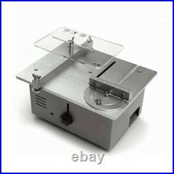 New CNC DIY Mini Table Saw Desktop Cutting Machine Bench Saw Woodworking Lathes