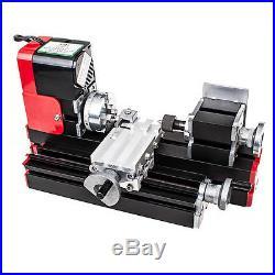 New CNC Metal Motorized Mini Lathe Machine ZHOUYU
