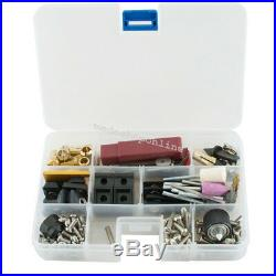 Portable Mini 6in1 Machine Wood Metal DIY Tool Jigsaw Milling Lathe Drilling USA