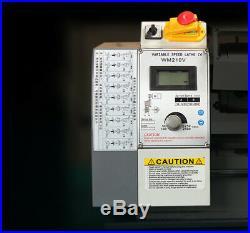 Precision Metal Lathe Mini Household Lathe Machine Brushless Motor 850W 220V