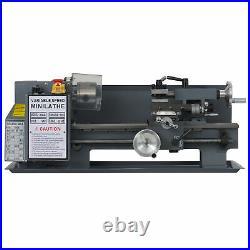 Preenex 2250rpm 7x12 Mini Metal Lathe Benchtop Woodworking Equipment 550W Motor