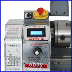 Preenex 8x16 2250rpm Mini Metal Lathe Benchtop Woodworking Equipment 1100W Motor