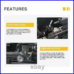 Preenex 8x16 Metal and Woodworking Mini Lathe with Brushless Motor 750W 2250rpm