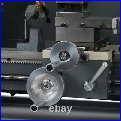Preenex Benchtop Mini Lathe Machine 750W Motor 3-Jaw Chuck & More 8x16 2250rpm