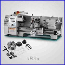 Professional Mini Metal Lathe Machine 750W Woodworking Metalworking Tool