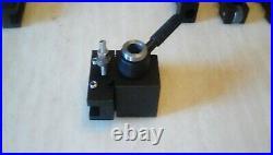Quick Change Tool Post For Mini Metal Lathe 300