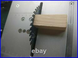 Raitool T4 Mini Table Saw Wood Electric Polisher Grinder Working Bench Lathe DIY