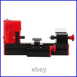 Ridgeyard 6 In 1 Metal Mini Wood Lathe Motorized Machine Hobby Modelmaking Tool