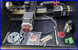 SHERLINE 4000 3.5 X 8 LATHE CNC DIY Mini/micro. Drives, Motors, Power Supply