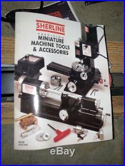 SHERLINE 4345 MINI LATHE 970-505. Very Good Used Condition