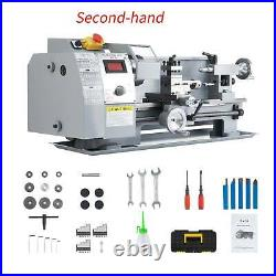 Secondhand 8x14 Mini Lathe Machine for Turning Milling Drilling Threading Metal