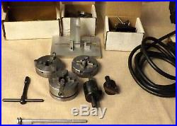 Sherline 4345 Mini MILL 970-506 8 Lathe With Extras