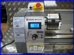 Small Mini Lathe Big bore 38mm Variable speed metal plasic wood 850w 400mm cente